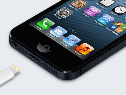 אייפון 5 (האתר הרשמי של אפל)