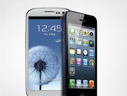 אייפון 5 מול גלקסי S3