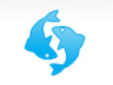 מזל דגים-כחול