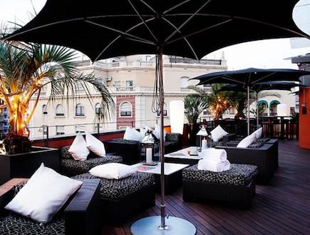 גג המלון בברצלונה