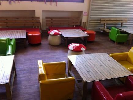 בתי קפה ידידותיים לילדים - צעדים