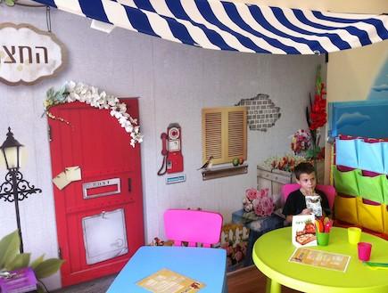בתי קפה ידידותיים לילדים - סטפס אפ