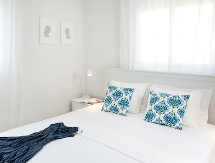 חדר שינה (צילום: שי אדם, צילום ביתי)