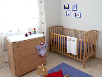 חדר שינה של הבן (צילום: שי אדם, צילום ביתי)