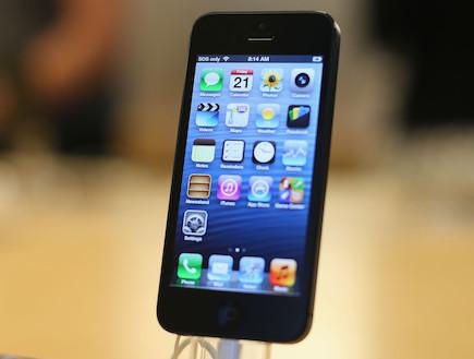 אייפון 5 (צילום: אימג'בנק/GettyImages)