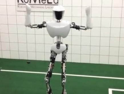 הרובוט צ'ארלי (צילום: מתוך youtube)