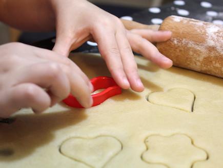 עוגיות חמאה - בהכנה