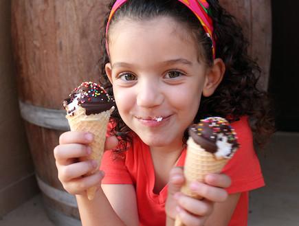 גלידה חמה (צילום: אסתי רותם ידידיה ,אוכל טוב)