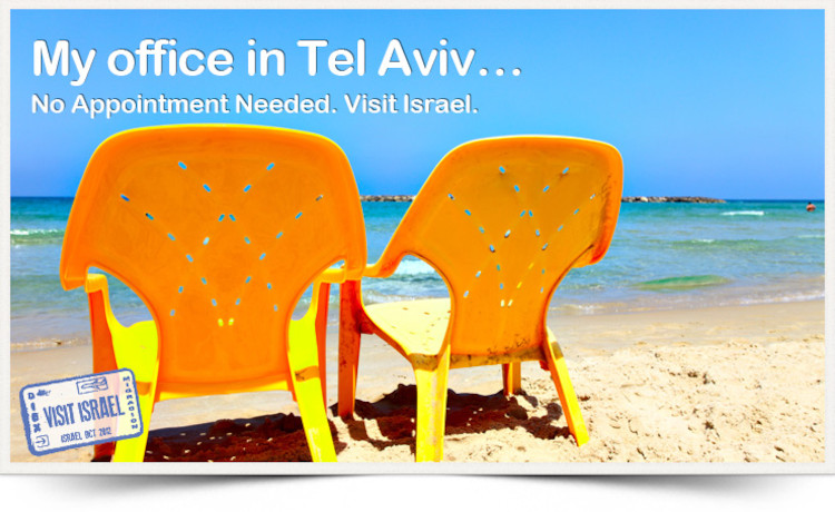 Visit Israel – We saved you a seat