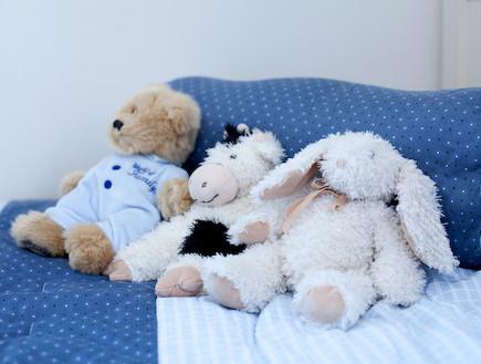 דובים על מיטה