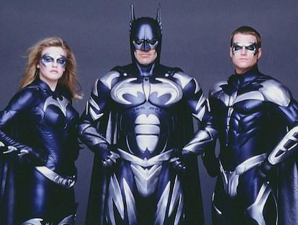 """קלוני, או'דונל וסילברסטון ב""""באטמן ורובין"""" (צילום: יחסי ציבור ,יחסי ציבור)"""