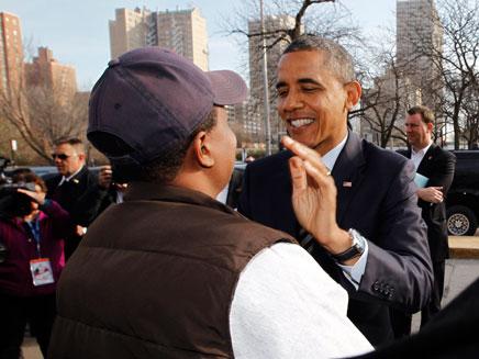אובמה ניצח (צילום: רויטרס)