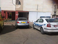 כוחות משטרה בזירת האירוע