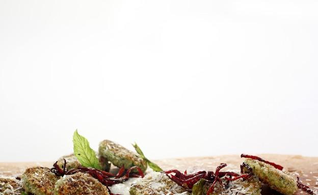 לביבות ירק וגבינה בולגרית(מכון אברהמסון)