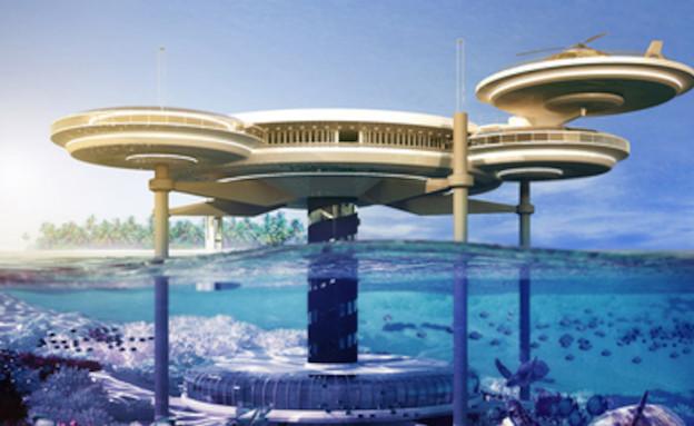 מלון מתחת למים, דובאי (צילום: מתוך האתר http://travel.cnn.com)