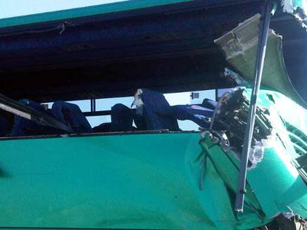 הפגיעה הקשה באוטובוס