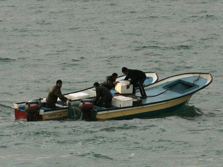 דייגים פלסטינים. ארכיון (צילום: AP)