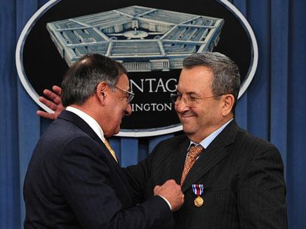 העיטור הגבוה ביותר המוענק לאזרחים. ברק ופאנטה (צילום: צלם: אריאל חרמוני, משרד הביטחון.)