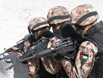 חיילים ירדניים באימון