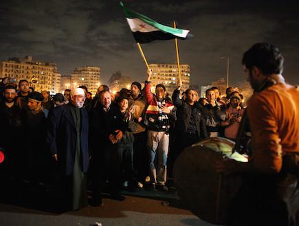 הפגנה בסוריה