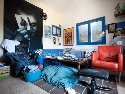 חדר מבולגן (צילום: אייל טורג)