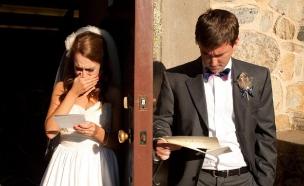 חתן וכלה. מתוך bridal guide (צילום: צילום מסך ,צילום מסך)