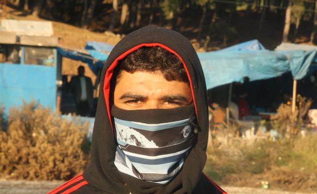 איתי אנגל ואמיר תיבון בסוריה (צילום: אמיר תיבון ,עובדה)