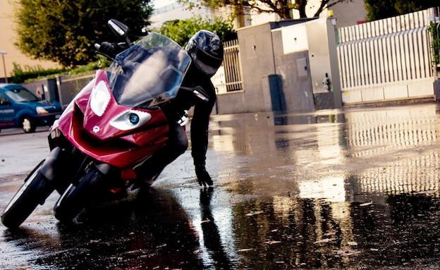 קטנוע עם 4 גלגלים