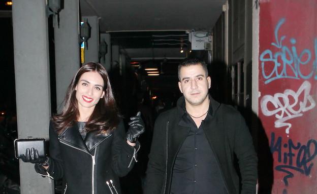 קארין כהן והחבר אריאל (צילום: ראובן שניידר  ,mako)