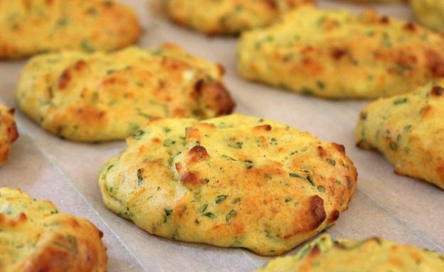 לביבות תפוחי אדמה אפויות (צילום: אסתי רותם ידידיה ,אוכל טוב)