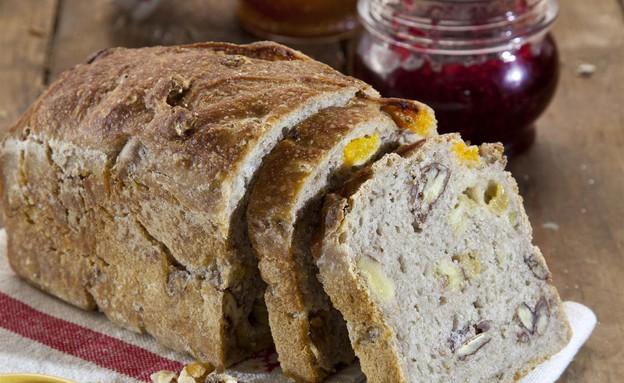 לחם פירות יבשים (צילום: דן לב ,אוכל טוב)