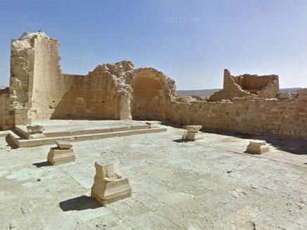העיר הנבטית הקדומה שבטה