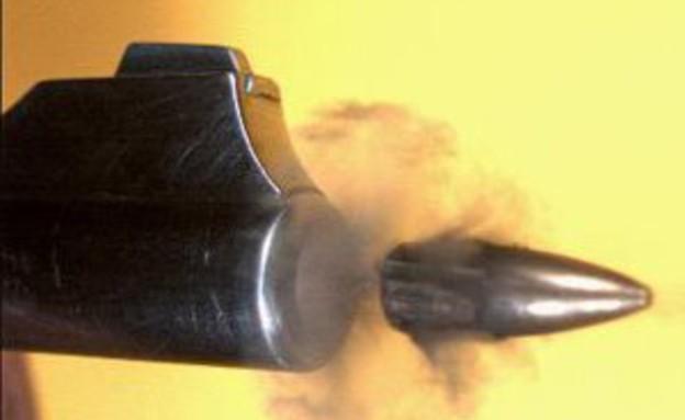 ירי בהילוך איטי (צילום: יוטיוב )