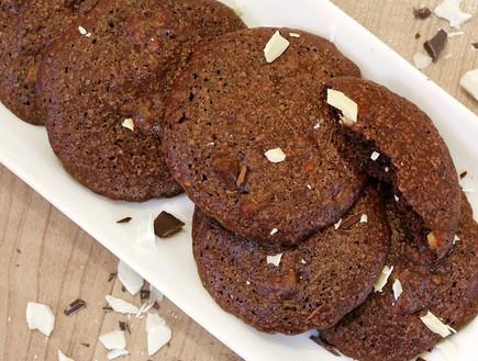 עוגיות שוקולד (צילום: אסתי רותם ידידיה ,אוכל טוב)