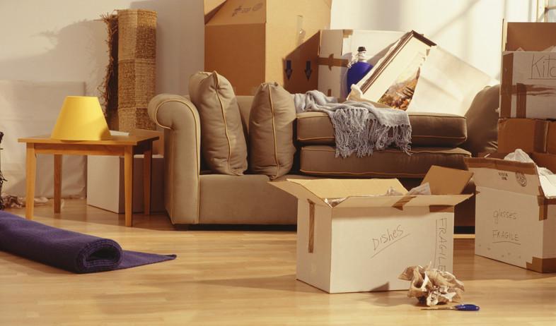 ניקוי בית, ארגזים (צילום: thinkstock)