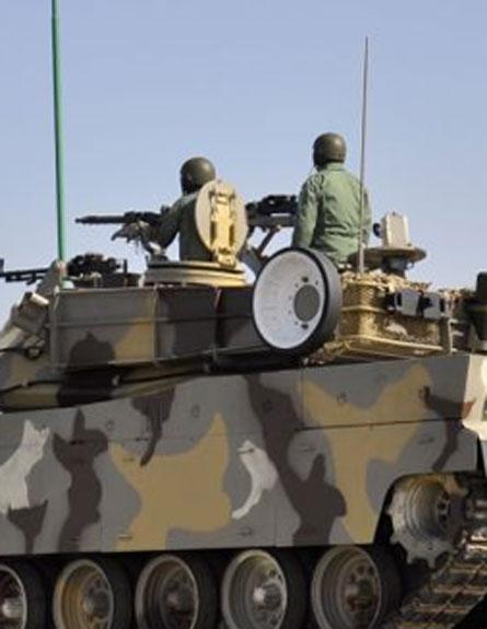 אחד מהטנקים החדשים (צילום: PRESS TV)