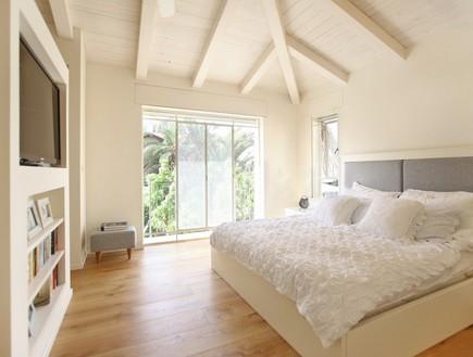 הלל, חדר שינה (צילום: מושיק כהן)