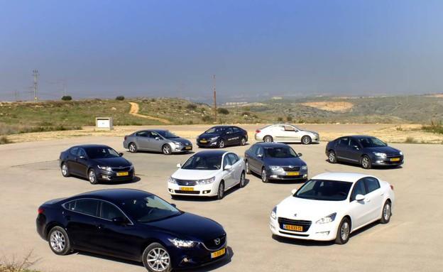 מבחן מכוניות מנהלים (צילום: נעם וינד)
