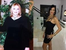 ענת לזרוביץ' לפני ואחרי (צילום: צילום ביתי)