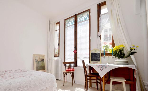 חדר שינה פריז, דירות רומנטיות