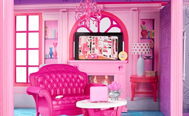 בית ברבי המקורי - הסלון (צילום: צילום מסך מאתר Mattel)