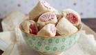 מתכון עוגיות אגוזים ורחת לוקום מבצק שמנת