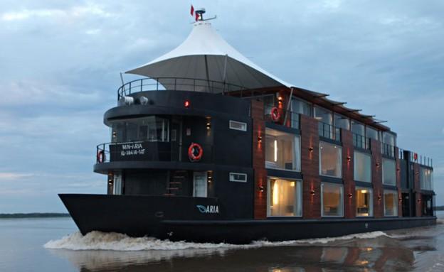 ספינת מלון - ספינת מלון מבחוץ (צילום: www.aquaexpeditions.com)