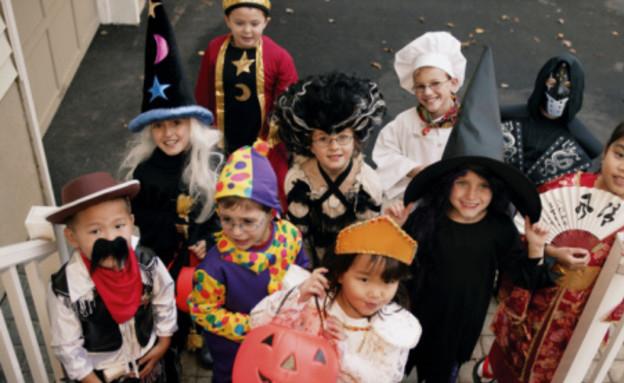 ילדים מחופשים (צילום: אימג'בנק / Thinkstock)