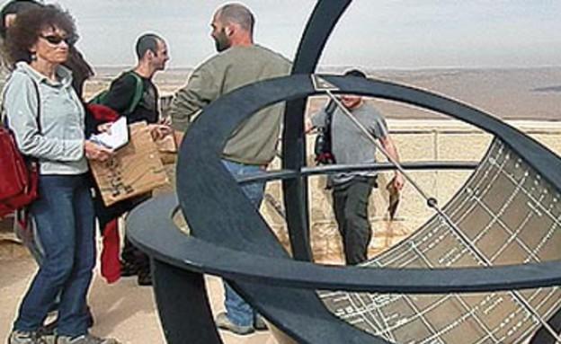 """חלל המדמה את מרכז האימונים של נאס""""א (צילום: דורון ניסים ,גלובס)"""