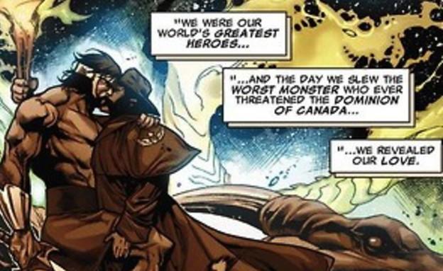 וולברין והרקולס הומואים (צילום: יחסי ציבור)