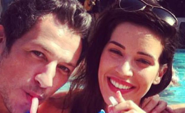 נטלי דדון וחמי בראל באילת (צילום: instagram ,instagram)