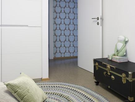 קרן שהם, שטיח בחדר ילדים (צילום: רני לוריא)