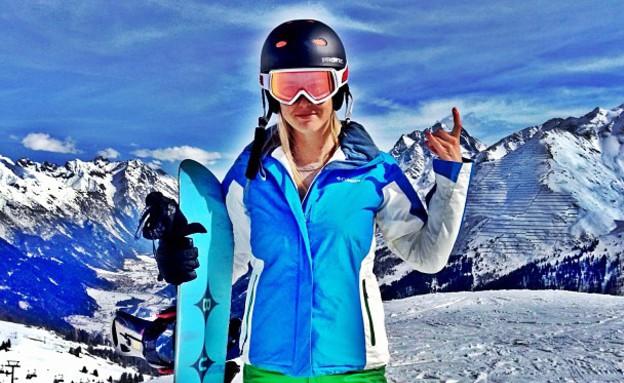 בר בחופשת סקי (צילום: instagram ,instagram)