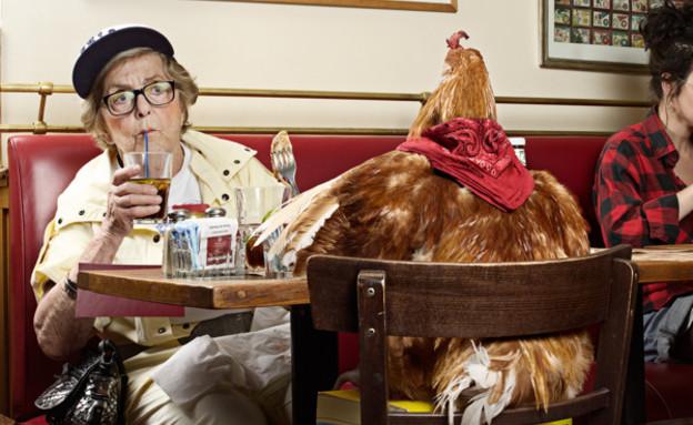 סבתא ותרנגול